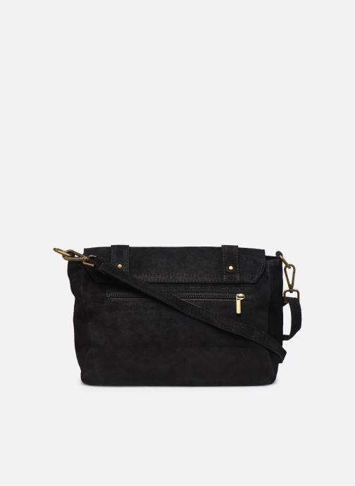 Håndtasker Georgia Rose Moncartable Leather Sort se forfra