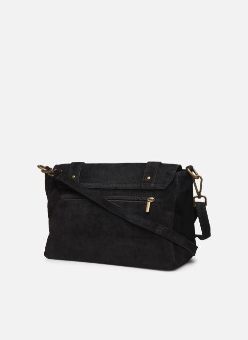 Håndtasker Georgia Rose Moncartable Leather Sort Se fra højre