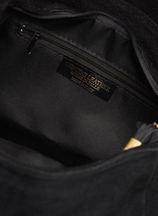 Handtassen Georgia Rose Moncartable Leather Zwart achterkant
