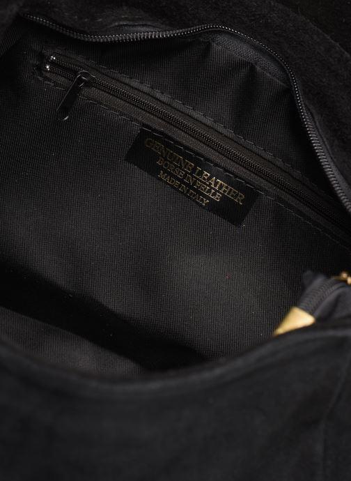 Sacs à main Georgia Rose Moncartable Leather Noir vue derrière