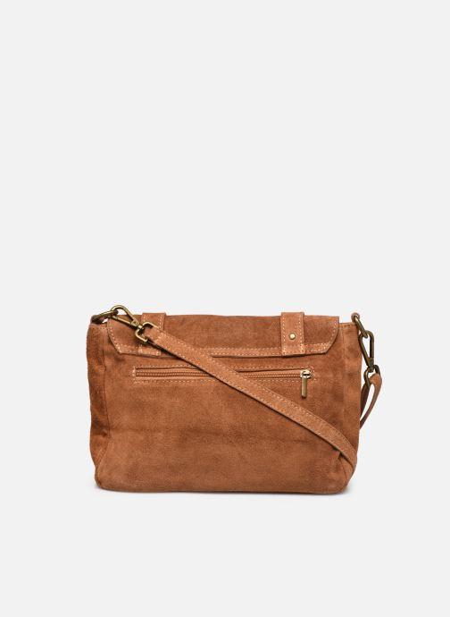 Bolsos de mano Georgia Rose Moncartable Leather Marrón vista de frente