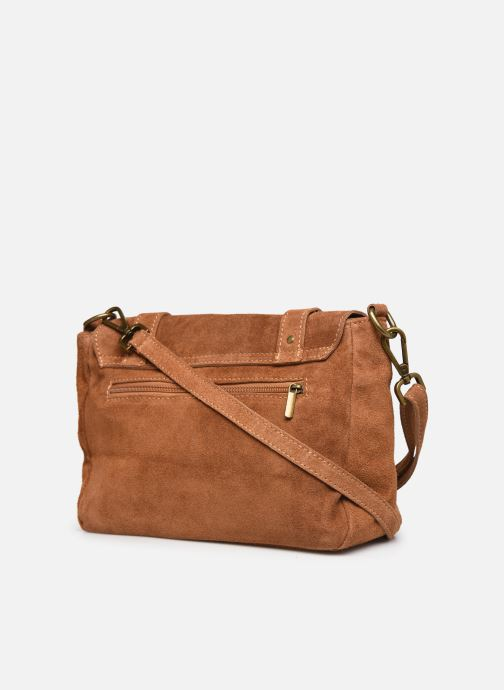 Sacs à main Georgia Rose Moncartable Leather Marron vue droite
