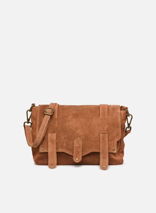 Bolsos de mano Georgia Rose Moncartable Leather Marrón vista de detalle / par
