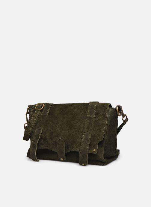Handbags Georgia Rose Moncartable Leather Green model view
