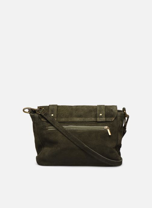 Handbags Georgia Rose Moncartable Leather Green front view