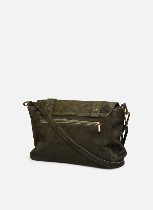 Handbags Georgia Rose Moncartable Leather Green view from the right