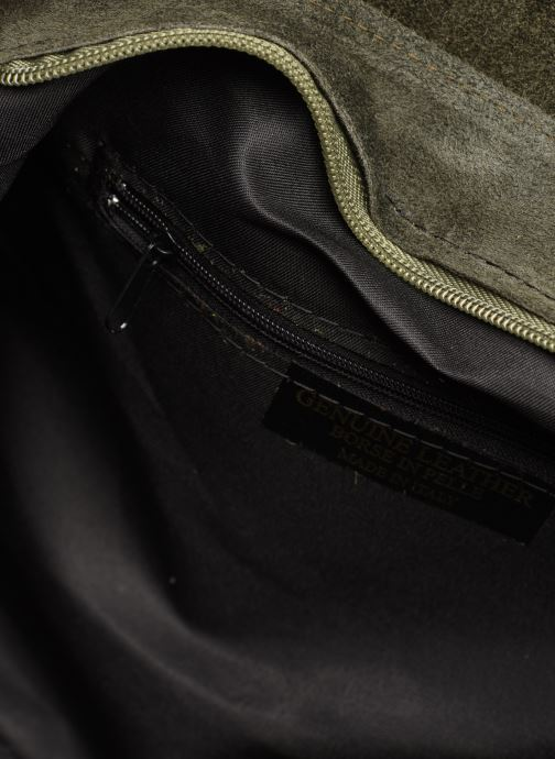 Handbags Georgia Rose Moncartable Leather Green back view