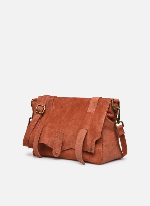 Handtassen Georgia Rose Moncartable Leather Rood model