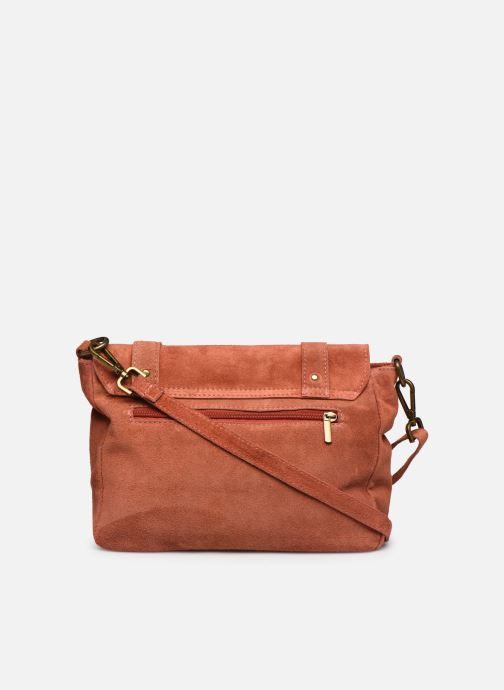 Bolsos de mano Georgia Rose Moncartable Leather Rojo vista de frente