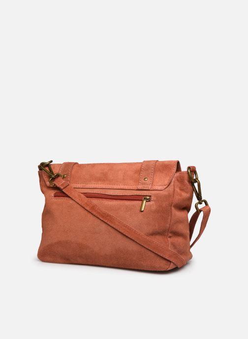 Handtassen Georgia Rose Moncartable Leather Rood rechts