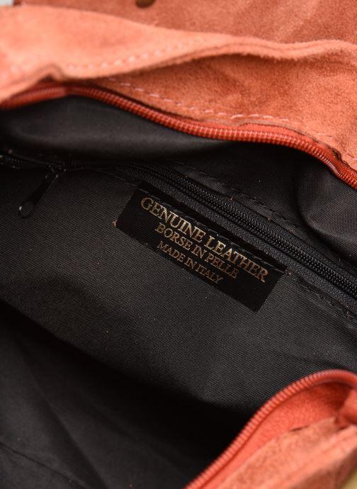 Bolsos de mano Georgia Rose Moncartable Leather Rojo vistra trasera