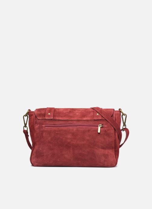 Sacs à main Georgia Rose Moncartable Leather Rouge vue face