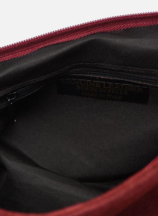 Handtaschen Georgia Rose Moncartable Leather rot ansicht von hinten