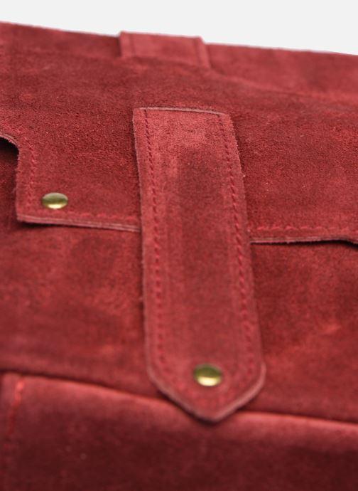 Bolsos de mano Georgia Rose Moncartable Leather Rojo vista lateral izquierda