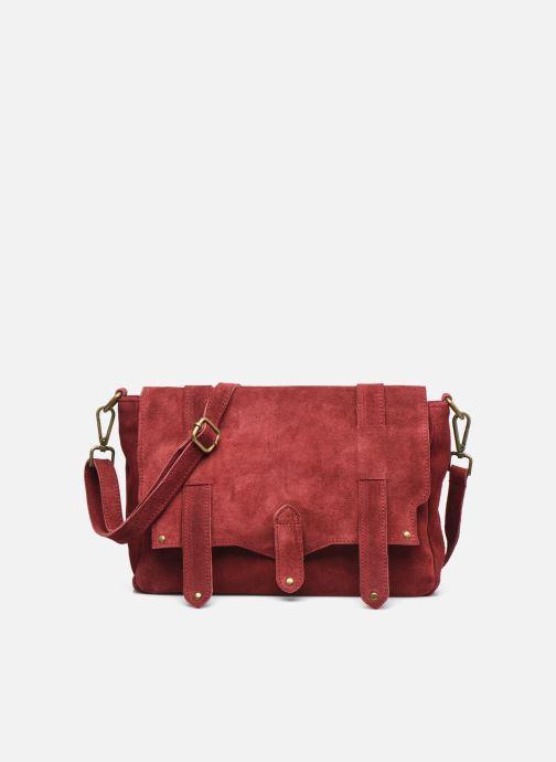 Bolsos de mano Georgia Rose Moncartable Leather Rojo vista de detalle / par