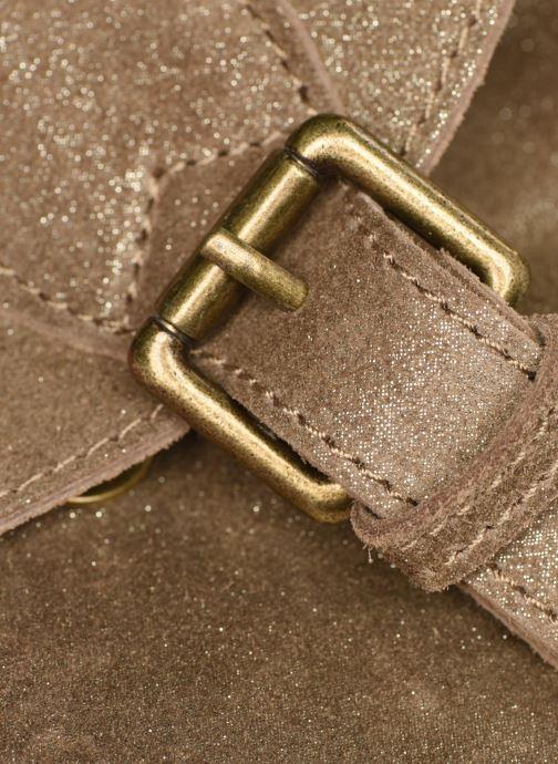 Sacs à dos Georgia Rose Midos Leather Or et bronze vue gauche