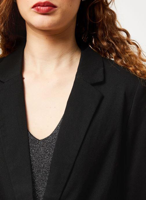 Vêtements Vila VIFABE L/S BLAZER Noir vue face