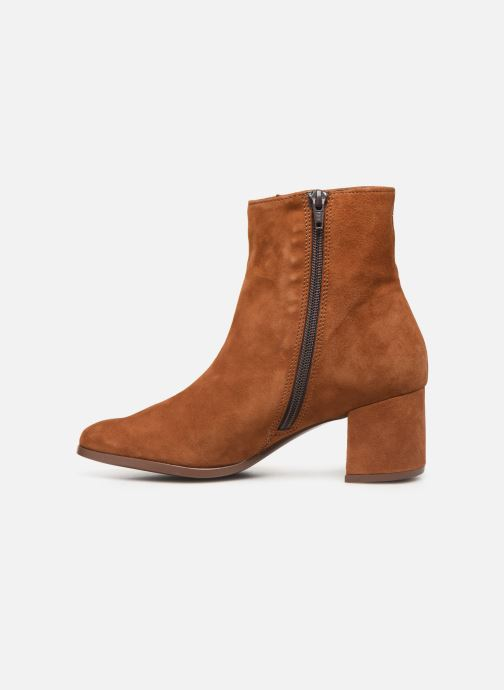 Ankle boots Jonak ANNICK Brown front view