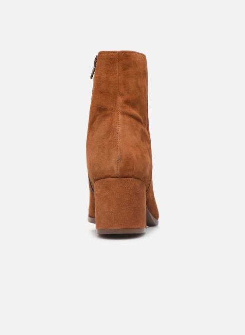 Ankle boots Jonak ANNICK Brown view from the right