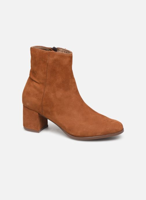 Ankle boots Jonak ANNICK Brown detailed view/ Pair view