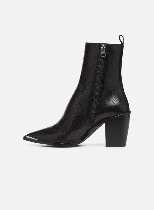 Boots en enkellaarsjes Jonak BASAMA Zwart voorkant