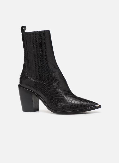Boots en enkellaarsjes Jonak BASAMA Zwart achterkant