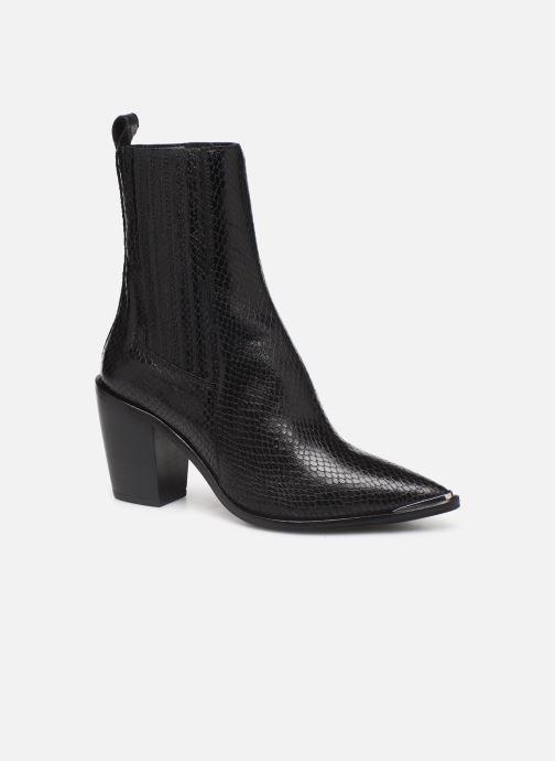 Boots en enkellaarsjes Jonak BASAMA Zwart detail