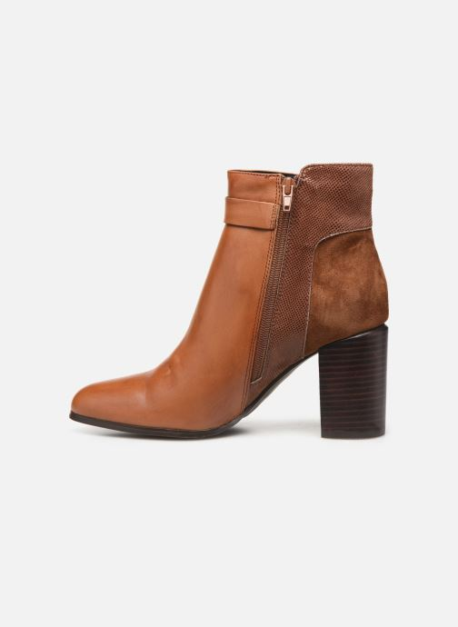 Ankle boots Jonak BATIDE Brown front view