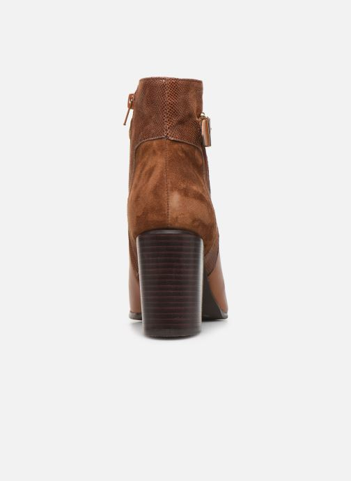 Ankle boots Jonak BATIDE Brown view from the right