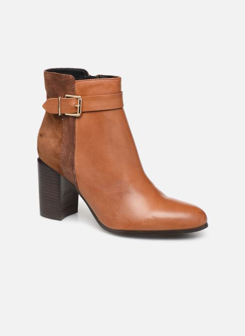 Ankle boots Jonak BATIDE Brown detailed view/ Pair view
