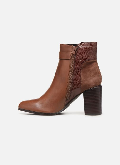 Bottines et boots Jonak BATIDE Marron vue face
