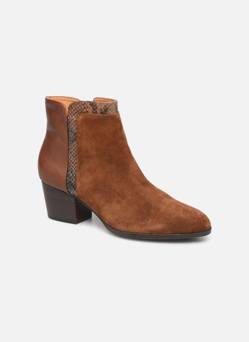 Bottines et boots Jonak BONNIE Marron vue détail/paire