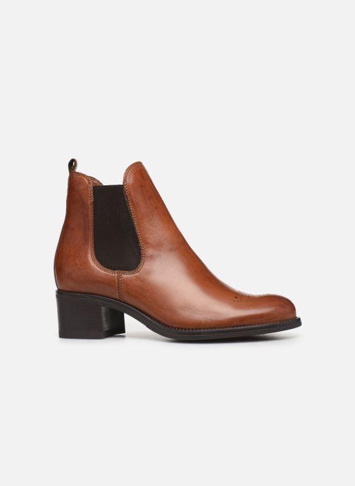 Boots en enkellaarsjes Jonak CALCUTTA Bruin achterkant