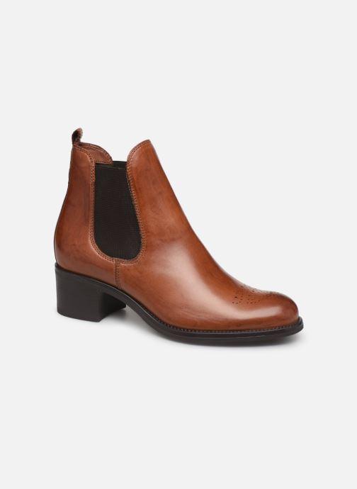 Boots en enkellaarsjes Jonak CALCUTTA Bruin detail