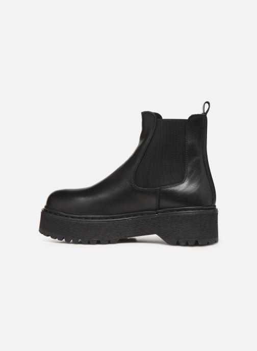 Boots en enkellaarsjes Jonak RANIE Zwart voorkant
