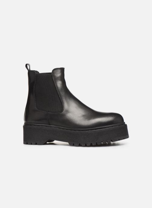 Boots en enkellaarsjes Jonak RANIE Zwart achterkant