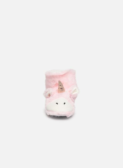 Sarenza Wear Chaussons Licorne Femme (Rose) - Chaussons (410174)