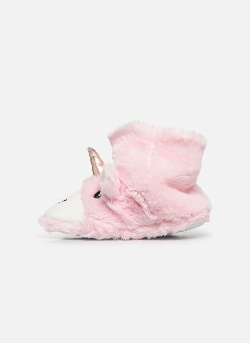 Pantuflas Sarenza Wear Chaussons Licorne Femme Rosa vista de frente