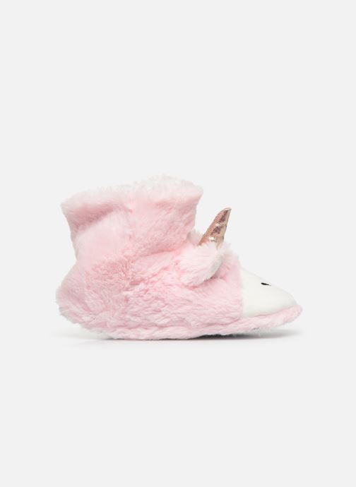 Pantuflas Sarenza Wear Chaussons Licorne Femme Rosa vistra trasera
