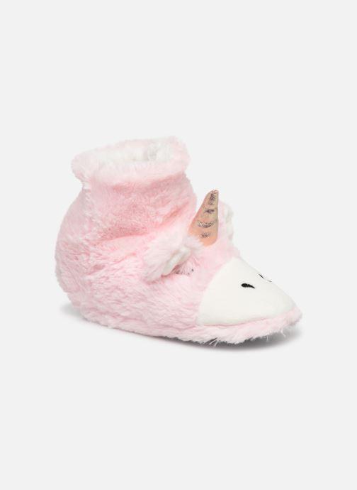 Pantuflas Sarenza Wear Chaussons Licorne Femme Rosa vista de detalle / par