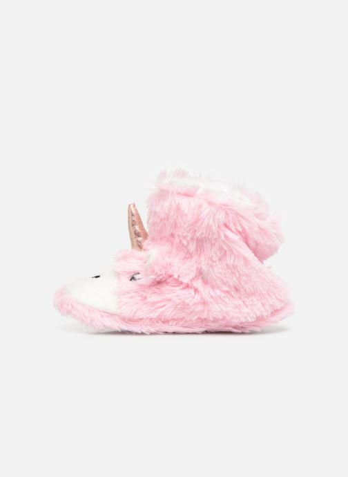 Pantoffels Sarenza Wear Chaussons Licorne Fille Roze voorkant