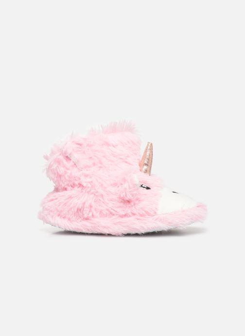 Pantoffels Sarenza Wear Chaussons Licorne Fille Roze achterkant