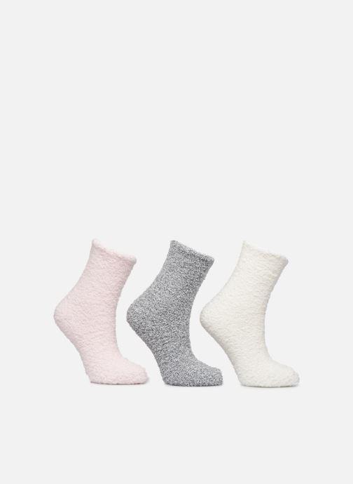 Chaussettes et collants Sarenza Wear Lot de 3 paires de chaussettes velours femme Beige vue détail/paire