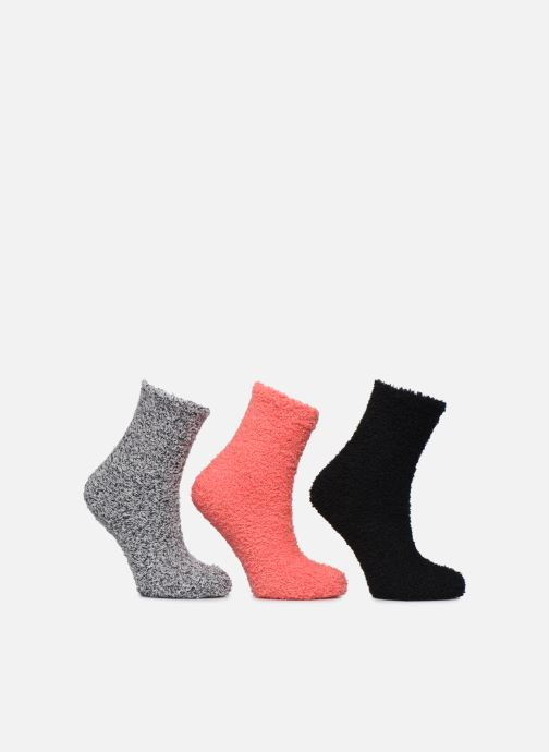 Chaussettes et collants Sarenza Wear Lot de 3 chaussettes velours femme Noir vue détail/paire