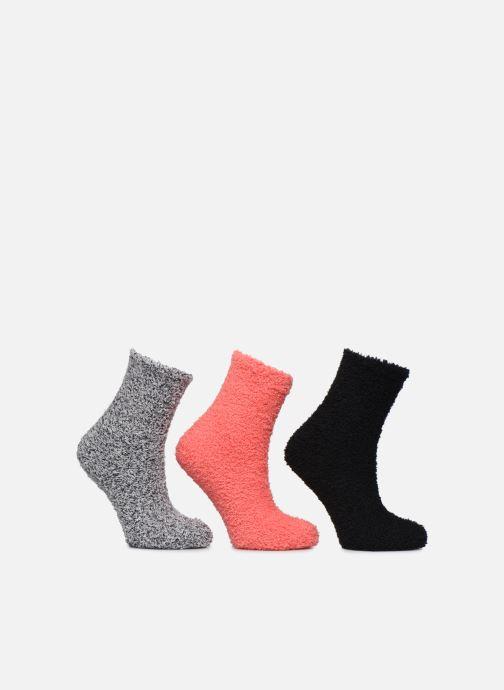 Socks & tights Sarenza Wear Lot de 3 chaussettes velours femme Black detailed view/ Pair view