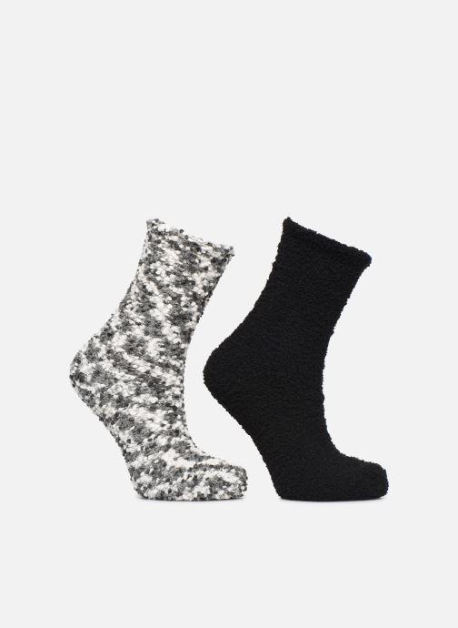 Chaussettes et collants Sarenza Wear Chaussons Chaussettes fourrés femme Noir vue détail/paire