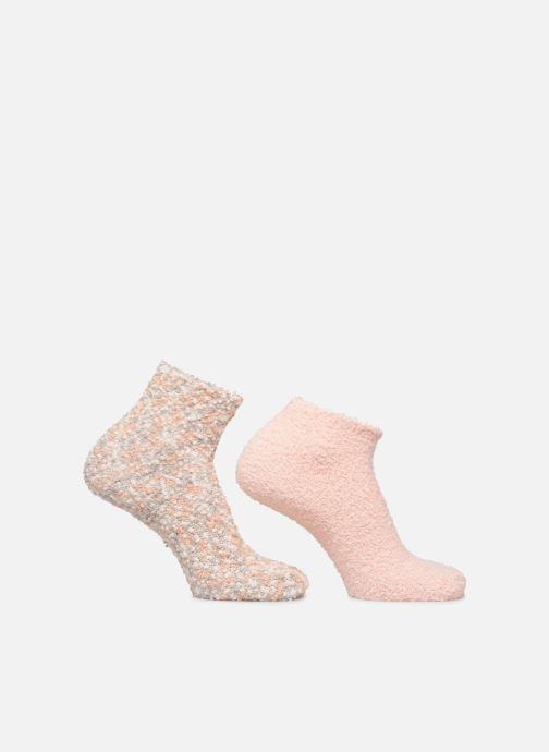 Socks & tights Sarenza Wear Chaussons Chaussettes fourrés femme Multicolor detailed view/ Pair view