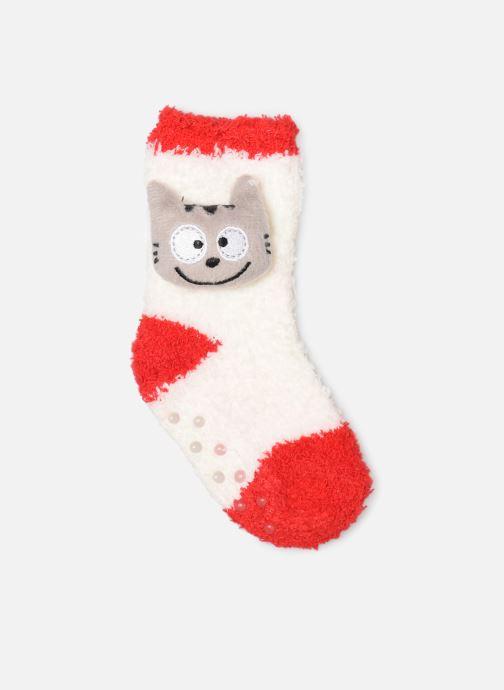 Socks & tights Sarenza Wear Chaussettes bébé mixte animal Red detailed view/ Pair view