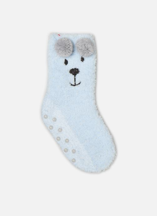 Socks & tights Sarenza Wear Chaussons Chaussettes bébé animal coconning Blue detailed view/ Pair view