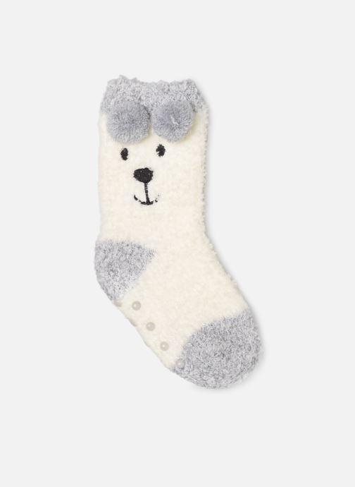 Chaussettes et collants Sarenza Wear Chaussons Chaussettes bébé animal coconning Beige vue détail/paire